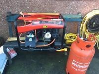 LPG /petrol generator