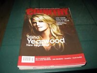 COUNTRY MUSIC PEOPLE MAGAZINE MARCH 2008 TRISHA YEARWOOD COVER