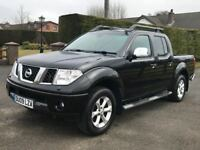 Mint 2009 Nissan Navara 2.5 dCi Outlaw Double Cab Pickup.trade in considered, credit cards accepted.