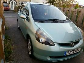 Honda jazz 1.4 petrol 52 plate 78k full service 1 prev owner 12 month mot