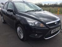 SALE! Bargain Ford Focus titanium, top of the range, low miles, long MOT sat nav