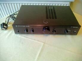 Cambridge audio amp.