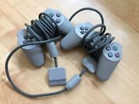 Playstation PS1 Controllers x2 (Two controllers for £10)