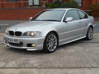 "04 BMW 320CD SPORT COUPE + TURBO DIESEL + FSH + 18"" MV2 ALLOYS"
