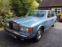 1981 Rolls Royce Silver Spirit - Full MOT classic, wedding investment?