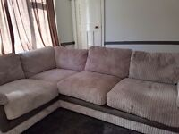 L shaped sofa (Good condition)