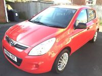 **REDUCED BY £500** *i20 1.2 AIR CON *FULL SERVICE HISTORY* *NEW CLUTCH FITTED* *MINT CONDITION*