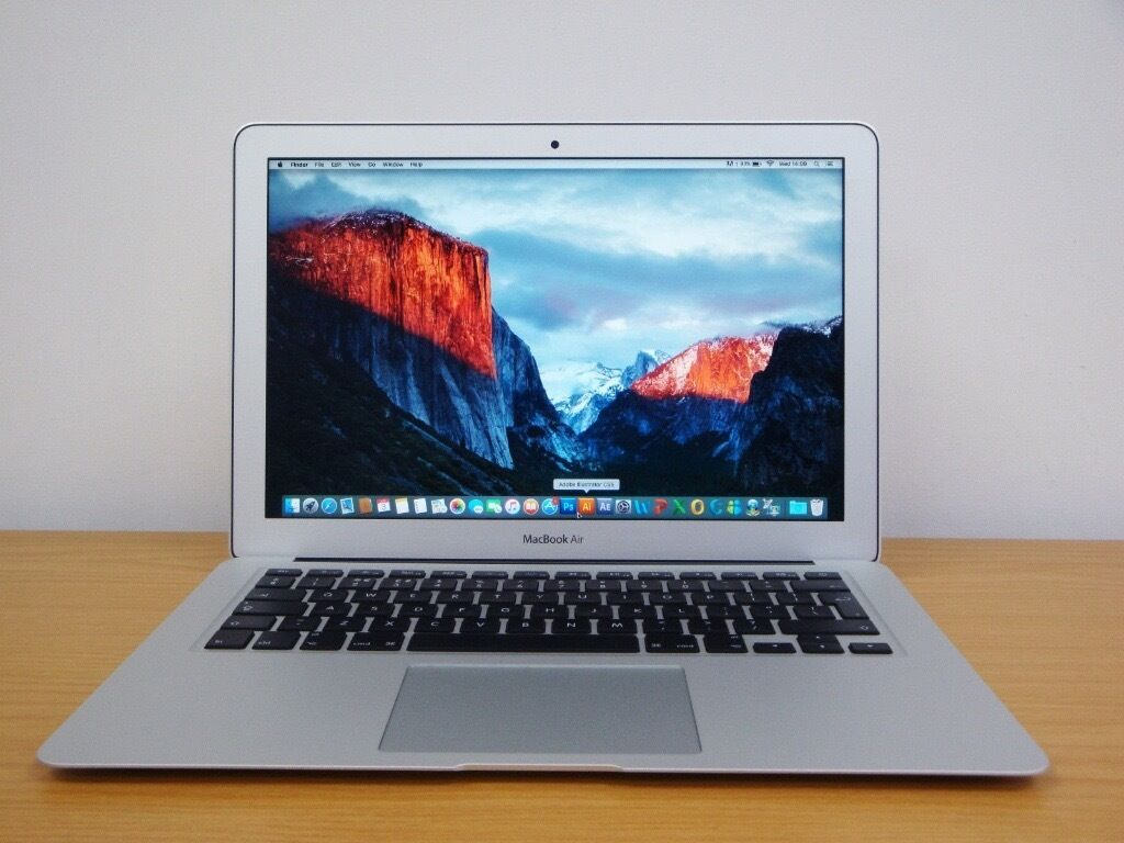"""MACBOOK AIR 2015 1.6 GHz 2.7 11.6"""" inch i5 128GB SSD New Conditionin Burbage, LeicestershireGumtree - Hi there, Im selling my Macbook Air that has been used once and has been in a case since purchasing from Apple, selling only due to receiving a work laptop and have no need for a second. The Macbook air will be in the same condition as a machine..."""