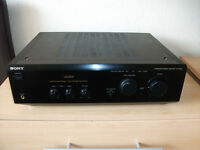 Sony TA-F248E, High End Toroidal Integrated Amplifier, Excellent Phono Stage