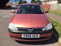 Vauxhall Corsa 1.4 i 16v Elegance 4x4 3dr (a/c)£599 2001 (Y reg), Hatchback