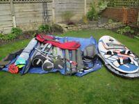 windsurfing set