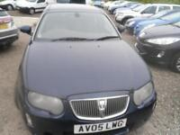 ROVER 75 2.0 CDTi Contemporary SE 4dr DIESEL AUTOMATIC, MOT FEB 2019 FULL LEATHER (blue) 2005
