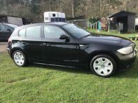 BMW 1 Series 1.6 Petrol Black