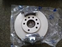 Front pads and discs for vauxhall
