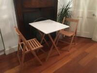 Habitat foldable table and chairs