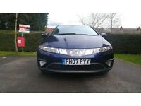 2007 Honda Civic 2.2 i-CTDi ES Hatchback 5dr Drives Excellent. Hpi clear.