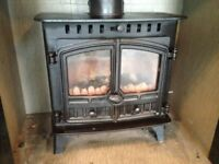 WOOD BURNER MULTIFUEL BURNER FIRE HUNTER HERALD 5 MULTIFUEL STOVE