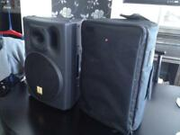 THE BOX PA110a ACTIVE SPEAKERS