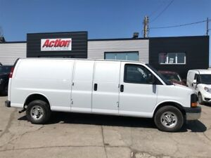 2017 Chevrolet Express 3500 EXT 6.0LV8 fin or lease from 4.99%oa