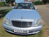 2003 MERCEDES S320 CDI AUTO FULL SERVICE HISTORY 6 MOT EXCELLENT CONDITION