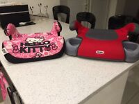 Kids booster seats excellent condition