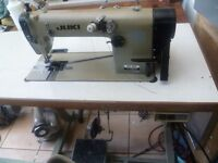 CHAIN STITCH Juki MH-380 Twin Needle Industrial Sewing machine