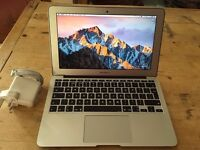 APPLE MACBOOK AIR 13INCHES 1.8GHZ i5-4GBRAM-256GB FLASH DRIVE-OFFICE-IN VERY CLEAN CON.07707119599