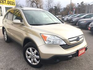2008 Honda CR-V EX-L/AWD/LEATHER/ROOF/LOADED/ALLOYS