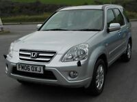 HONDA CRV 2.0 i-VTEC EXECUTIVE AUTO, 4WD, 2006, 2 OWNERS, 100k, FSH, FULL LEATHER, DAB, DVD, SUPERB