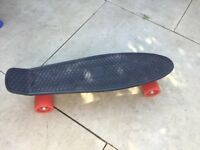 BLACK AND RED PENNY STYLE BOARD