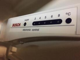 Integrated Bosch fridge freezer