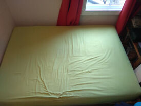 Futon Sofa Bed (Double bed size) - available to pick up end of May