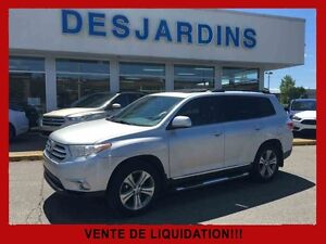2011 Toyota HIGHLANDER 4WD V6 Limited *CUIR / TOIT OUVRANT /CAME