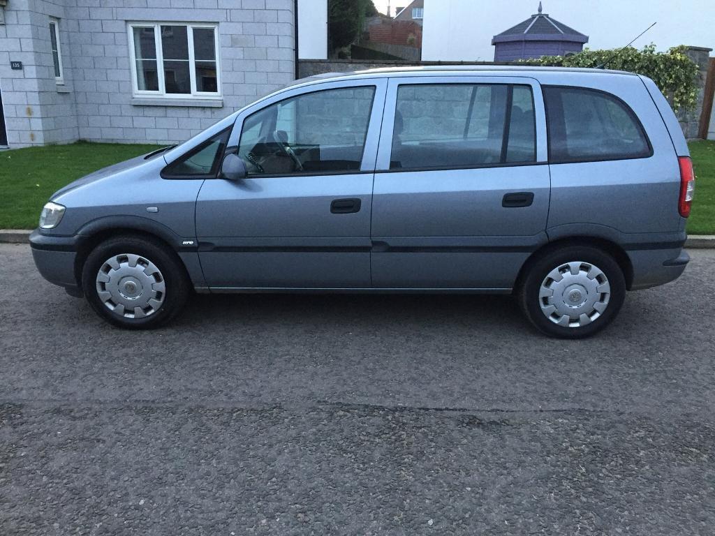 7 SEATER Vauxhall ZAFIRA 1.6.... FULL YEAR MOT!!! No Advisory ..70k Miles ..JVC Stereo Aux VGC £1350