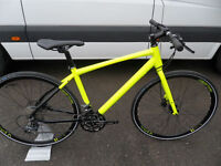 Raleigh Strada Speed 1 Brand New Fast Road Flatbar Hybrid Bike Hydraulic Brakes located Bridgend Are
