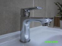 Basin mixer tap,