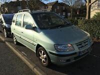 2003 HYUNDA MATRIX 1.6 AUTOMATIC LONG MOT TAX/DRIVE A1/renault scenic/mazda 6/honda civic/auto