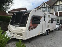 Bailey unicorn Barcelona 2013 twin axle four berth touring caravan vgc