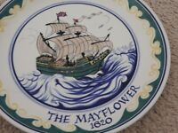 Poole Pottery The Mayflower Plate