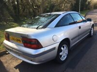 Vauxhall Calibra Auto 1993 reg only 2 owners low mileage s/history only 79k miles