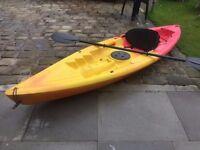 """kayak """"like new"""" ocean Plastic"""