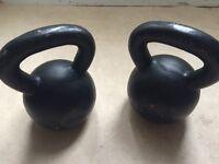 Kettlebells - cast iron, good condition (2 x 20kg)