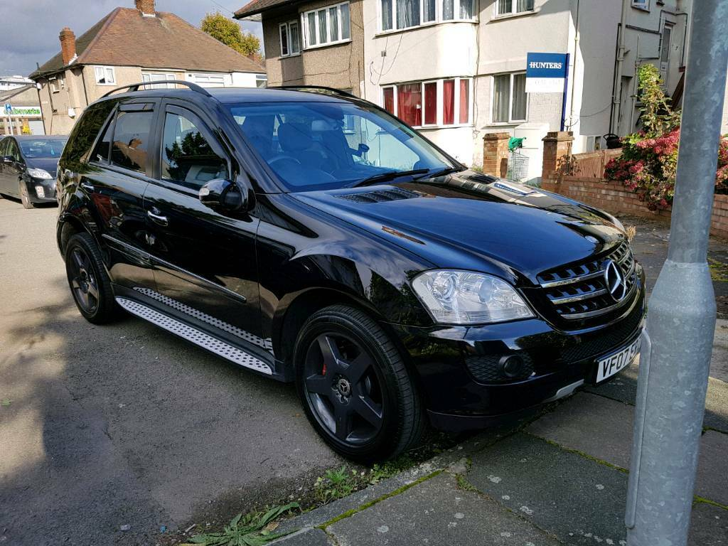 mercedes ml 420cdi sport v8 4x4 mot 2019 very rare please read description in. Black Bedroom Furniture Sets. Home Design Ideas