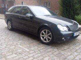 2007 | MERCEDES-BENZ | C220 CDI SE ESTATE | AUTOMATIC | LEATHER | SERVICE HISTORY | ONLY 2700