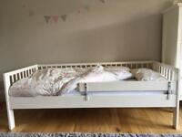Ikea Gulliver Toddler Bed with Guardrail