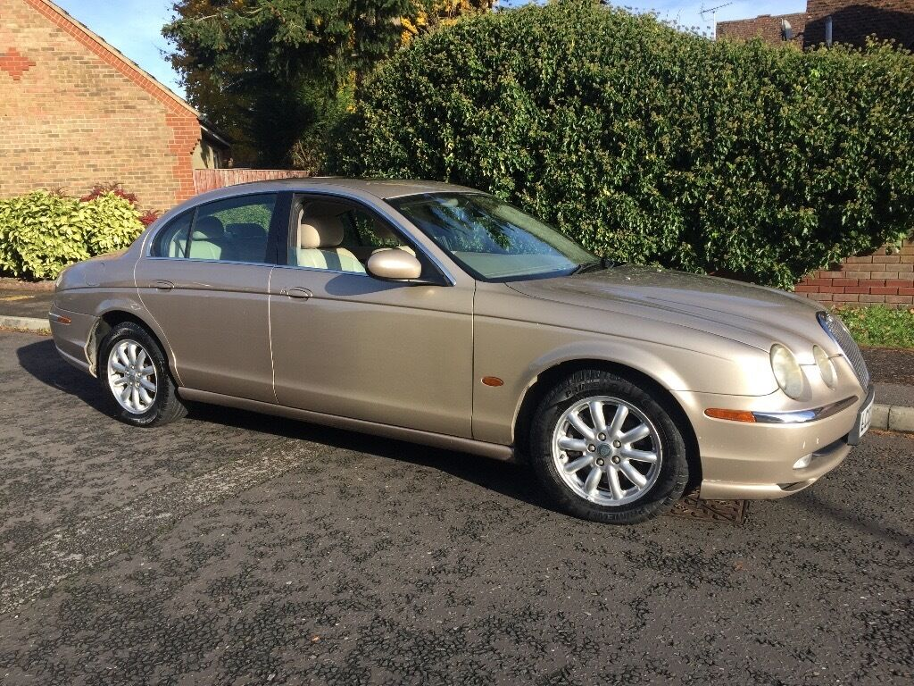 JAGUAR 3.0 V6 S TYPE LOW MILEAGE 44,000 BEIGE AUTOMATIC PX WELCOME