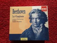 CD Gift box, CDs coffrets, 3 CD boxes: Beethoven 9 symphonies and sonatas for violin and piano