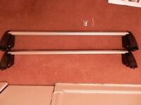 Genuine Audi A3 05-13 Sportback Roof Bars Rack 8P9 071 151 666 with keys, tool and instructions VGC