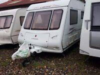 2005 Compass Liberte 17 4 Berth Caravan with Air Conditioning..