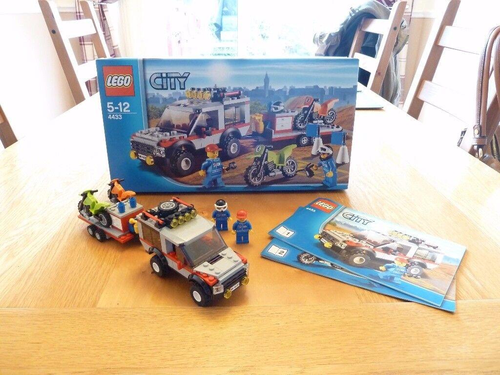 Lego City (4433) Dirt Bike Transporter